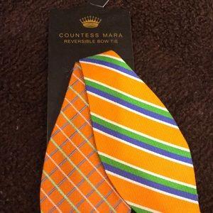 Countess Mara NWOT reversible bow tie